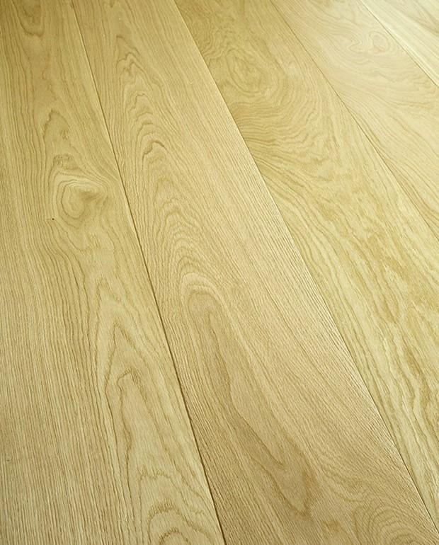 Plancher Chêne Semi-Massif Naturel 15/6x155 mm Brossé Verni Mat
