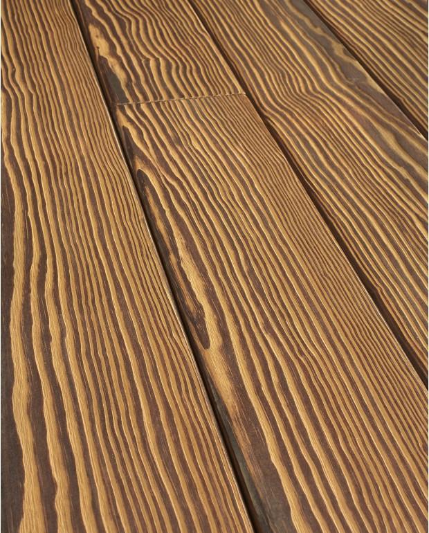 Lames de Terrasse Pin de Caroline Rock 25x140 mm Huilé