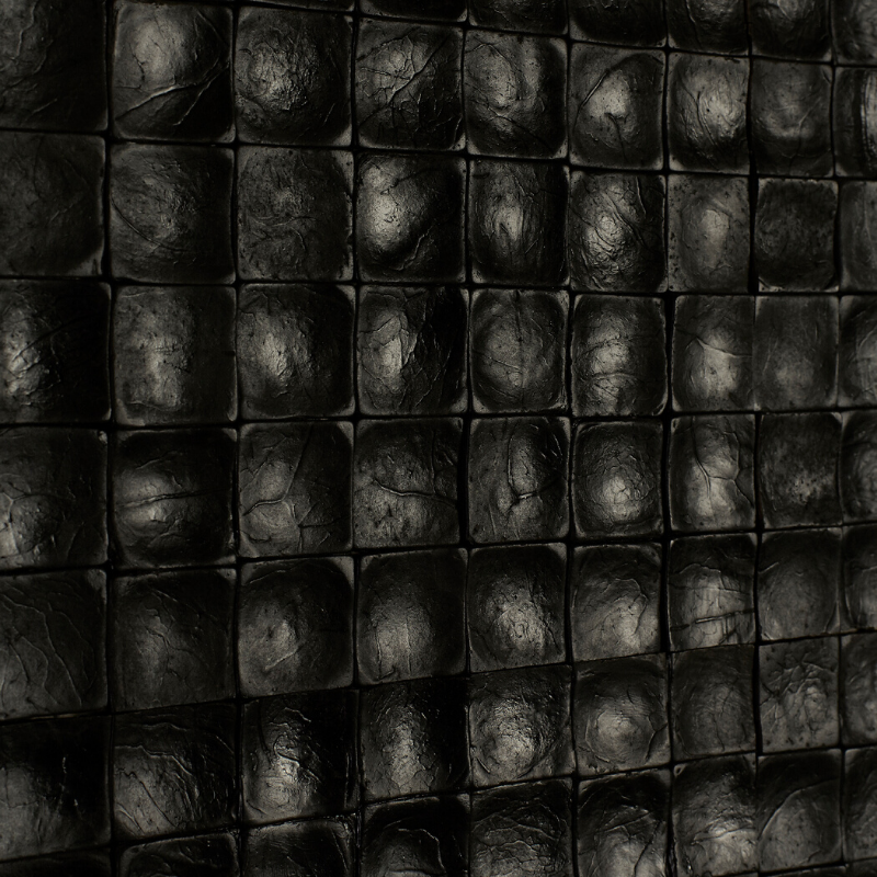 Panneau Mural Coco Black IN 10x420x420 mm Teinté Verni