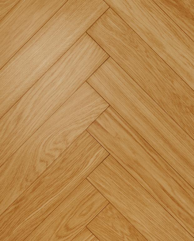 Bâtons Rompus Chêne Contrecollé CP Terra 14/3.2x92x610 mm Verni