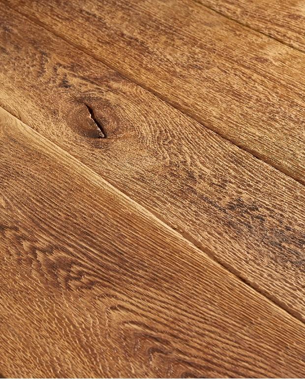 Plancher Vieilli Main Chêne Massif Melbourne 20x140 à 240 mm Huilé