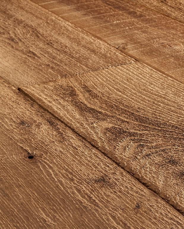 Plancher Vieilli Main Chêne Massif Bali 20x140 à 240 mm Huilé