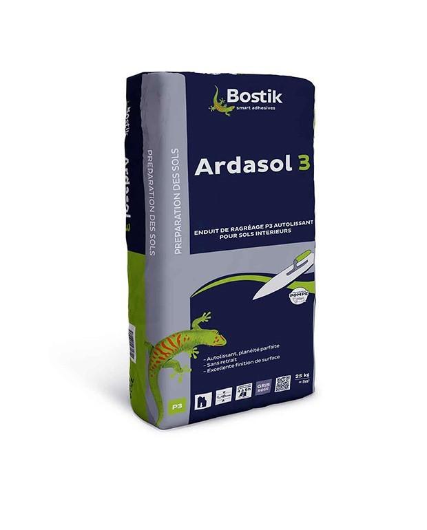 Ragréage Bostik Ardasol Trafic P3 Sac de 25Kg