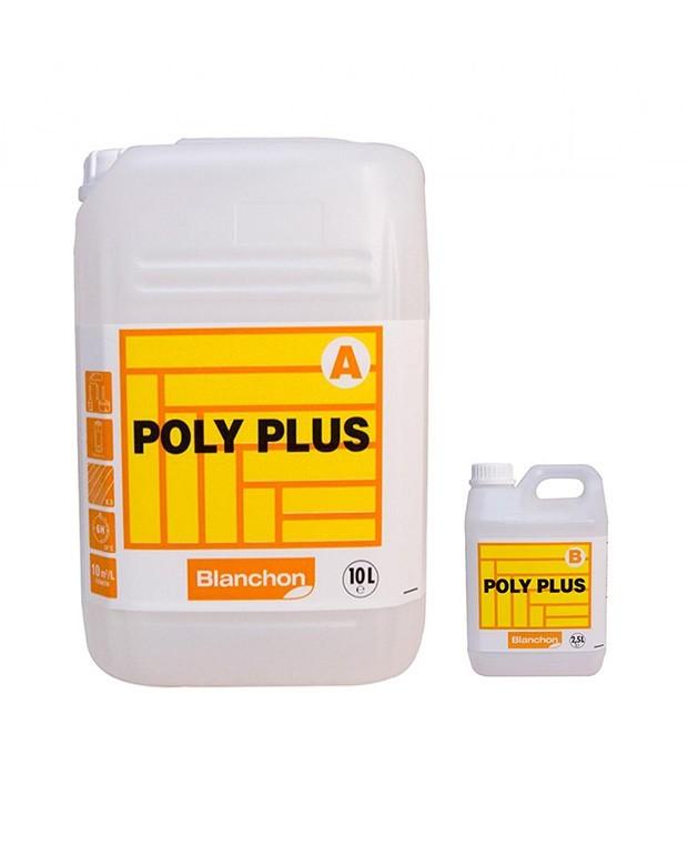 Vernis Polyplus + Durcisseur Satiné 2 Composants 12.5 LITRES