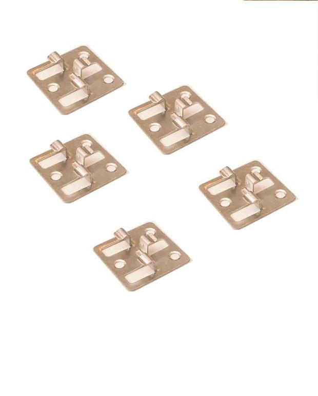 Boîte de 100 Clips Inox pour Lame Composite + 400 Vis A2 Inox - 20/M²