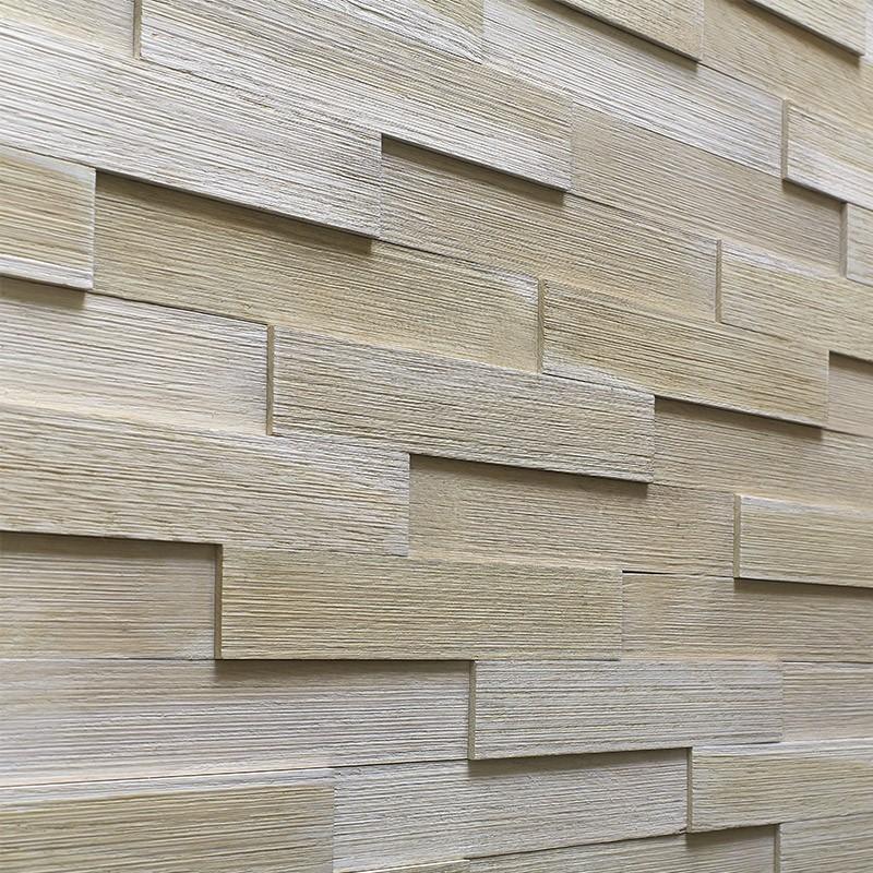 Panneau Mural Chêne Blanc 300x55 mm