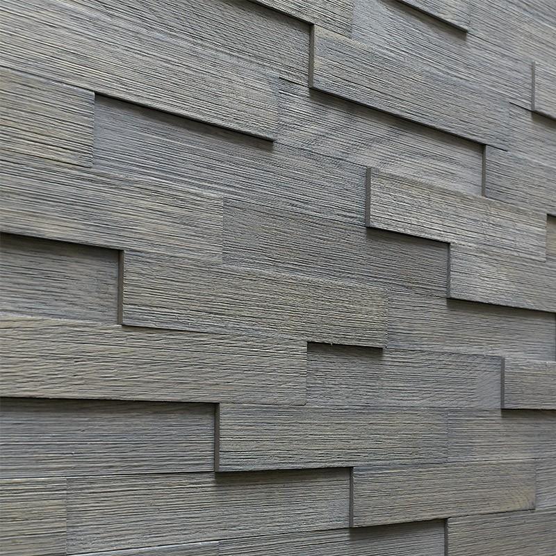 Panneau Mural Chêne Gris 300x55 mm