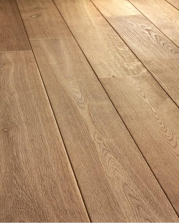 Plancher Vieilli Chêne Semi-Massif C27 16/6x180 mm Huilé Brossé