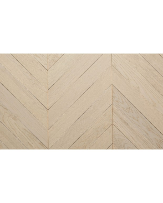 Point de Hongrie Chêne Contrecollé CP Silk 14/3.2x92x600 mm Verni