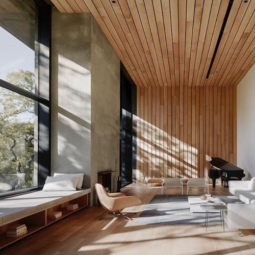 ∙ I N S P I R A T I O N •⠀ Parfaitement intégré au paysage environnant, cet espace inspire le calme et la sérénité... Le bois nous invite à découvrir ses perspectives.✨⠀ ∙⠀ ——————————⠀ 🔎 Via @faulknerarchitects ⠀ ——————————⠀ ∙⠀ ∙⠀ ∙⠀ ⠀ ⠀ #carresol #parquet #interieurdesigner #designdinterieur #appartementparisien #chicdesign #architecturedinterieur #amenagementinterieur #maisoncontemporaine #intérieurs #woodenhome #woodinteriordesign #interior #parquetflooring #woodfloors #flooringideas #flooringdesignideas #hardwoodfloors #agencementsurmesure #agencementinterieur #reclaimedwood #woodenfloor #menuiseriesurmesure #chêne