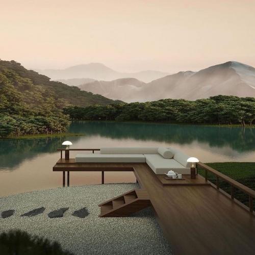 ∙ I N S P I R A T I O N •⠀ Composition insolite à l'esprit naturel. Cette terrasse joue sur l'équilibre entre l'imaginaire et le réel. Évasion assurée... 🌿⠀ ∙⠀ ——————————⠀ 🔎 Via @d.signers  ——————————⠀ ∙⠀ ∙⠀ ∙⠀ #carresol #parquet #interieurdesigner #designdinterieur #appartementparisien #chicdesign #architecturedinterieur #amenagementinterieur #maisoncontemporaine #intérieurs #woodenhome #woodinteriordesign #interior #parquetflooring #woodfloors #flooringideas #flooringdesignideas #hardwoodfloors #agencementsurmesure #agencementinterieur #reclaimedwood #woodenfloor #menuiseriesurmesure #chêne